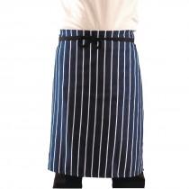 Whites Butchers Waist Apron Blue & White Stripe XL