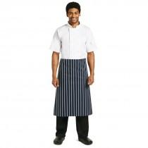 Whites Butchers Waist Apron Blue & White Stripe
