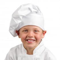 Whites Childrens Chef Hat White One Size