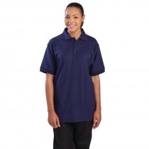 Uniform Works Polo Shirt Navy Blue