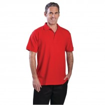 Uniform Works Polo Shirt Red