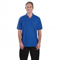 Uniform Works Polo Shirt Royal Blue