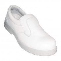 Lites Safety Slip on Shoes White