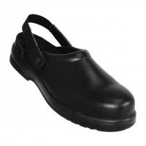 Lites Safety Clogs Black