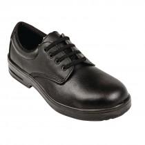 Lites Safety Lace Up Shoe Black