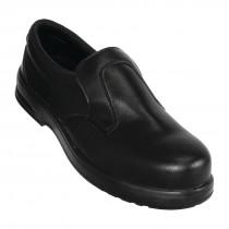 Lites Safety Slip On Shoes Black