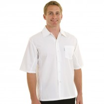 Chef Works Cool Vent Short Sleeved Chefs Shirt Mens White