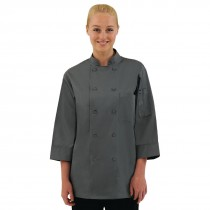 Colour by Chef Works Unisex Chefs Jacket Grey