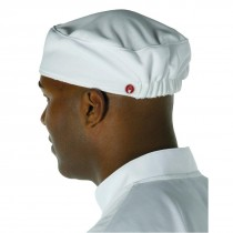 Chef Works Total Vent Chefs Beanies White