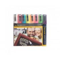 Liquid Chalk Marker Pens 2-6mm Assorted Colours
