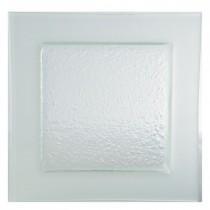 Gobi Square Plate Frost Edge 32cm