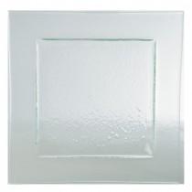 Gobi Square Plate Clear 26cm