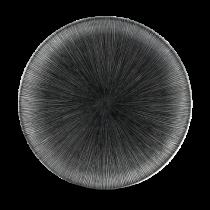 Chuchill Studio Prints Agano Black Coupe Plate 26cm