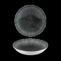Churchill Studio Prints Agano Black Coupe Bowl 18.2cm