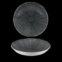 Churchill Studio Prints Agano Black Coupe Bowl 24.8cm