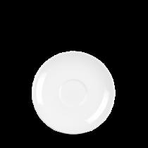 Churchill Alchemy White Coupe Tea Saucer 15.3cm