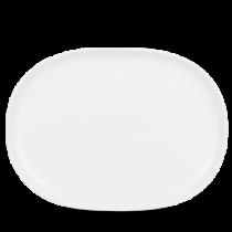 Churchill Alchemy Moonstone Oval Plate 26.5 x 35.5cm