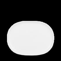 Churchill Alchemy Moonstone Oval Plate 14.5 x 19cm