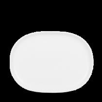 Churchill Alchemy Moonstone Oval Plate 16.7 x 22.5cm