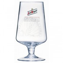San Miguel Stemmed Pint Glasses CE Marked 20oz / 58.5cl