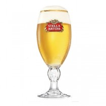 Stella Artois Chalice Pint Glasses CE Marked 20oz / 58.5cl