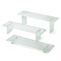 3 Piece Acrylic Riser Set Straight Legs
