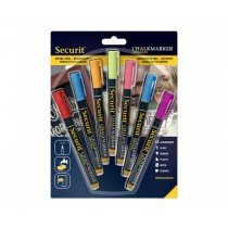 Liquid Chalk Marker Pens 1-2mm Assorted Colours