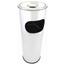 Stainless Steel Floor Standing Cigarette Bin