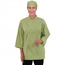 Colour by Chef Works Unisex Chefs Jacket Lime