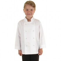 Whites Childrens Chef Jacket White Large