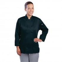 Chef Works Ladies Marbella Chefs Jacket Black