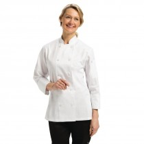 Chef Works Ladies Marbella Chefs Jacket White