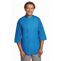 Colour by Chef Works Unisex Chefs Jacket Blue