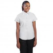 Chef Works Cool Vent Short Sleeved Shirt Ladies White