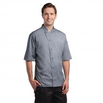 Chef Works Cool Vent Valais Chef Jackets Grey