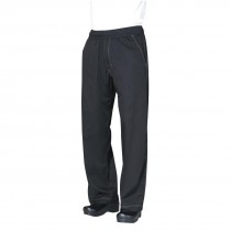 Chef Works Cool Vent Baggy Chefs Trousers Black