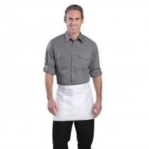 Chef Works Mens Pilot Shirt Grey