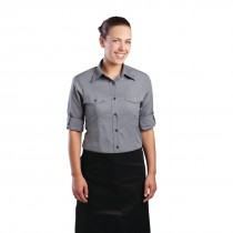 Chef Works Ladies Pilot Shirt Grey