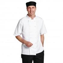 Boston Short Sleeved White Jacket