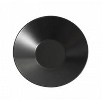Royal Genware Round Pasta/Soup Bowl Luna Black 23 x 5cm