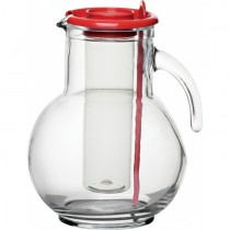 Kuffra Jug with Red Lid 75oz / 225cl