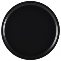 Royal Genware Pizza Plate Luna Black 33cm