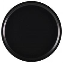 Royal Genware Pizza Plate Luna Black 33cm