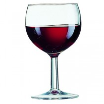 Ballon Toughened Wine Glass 8.75oz 25cl LCE @ 175ml