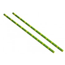 Bamboo Paper Straw 8inch