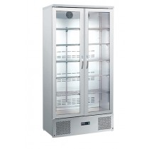 Blizzard BAR20SS Upright Double Door Bottle Cooler