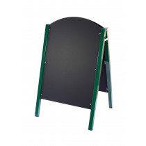 Traditional Green Metal Sided A-Board 1100 x 680mm