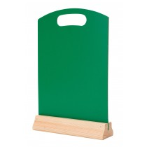 Hand Held Menu Board Green A4