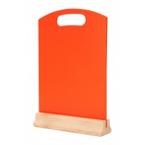 Hand Held Menu Board Orange A4