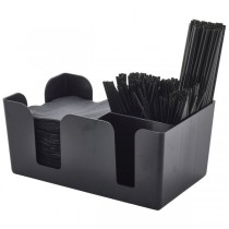 Bar Caddy Black 24 x 15 x 11cm